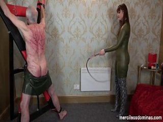 Extreme Back Whipping - Hard Poundind by Vivienne l&#039_Amour