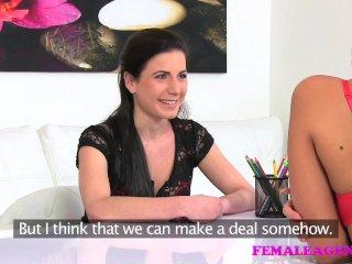 FemaleAgent Sexy strap on domination