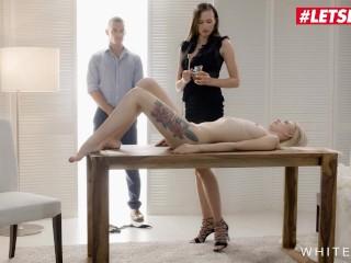 WhiteBoxxx - Stacy Cruz & Arteya Sexy Czech Teen Passionate Kinky Threesome With Boyfriend - LETSDOEIT