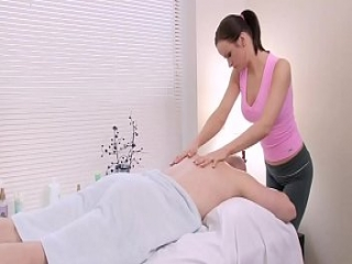 Stud Gets Some Extra During Janessa&rsquo_s Massage