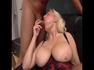 Chubby blonde German slut used by masters and mistresses