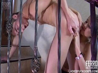 Madeleine Fucks Her Step-Brother With Huge Strapon Austin A