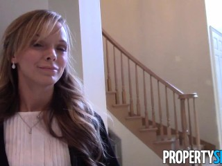 Propertysex Petite Attractive Real Estate Agent Bangs Potential Homebuyer