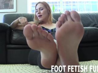 Foot Fetish Domination And Femdom Toe Sucking Porn