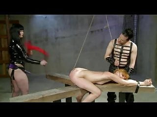 Double Whip And Strap On Fuck