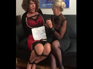 Sissy slave Dizzy Is Tormented By Mistress!
