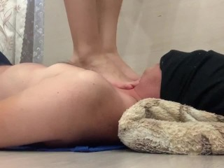 Trampling #55 bare feet