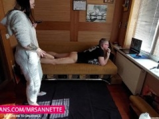 Step Sister Caught Brother Watching Porn  MrsAnnette