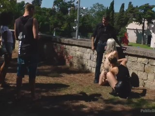 This perky blonde slut needs a workout! And there is no better kink fitness instructor than Mona Wales.